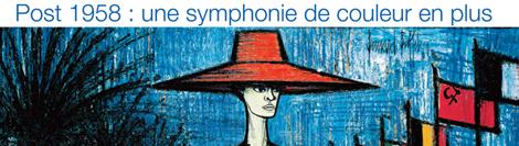 Bernard Buffet, post 1958 : une symphonie de couleur en plus