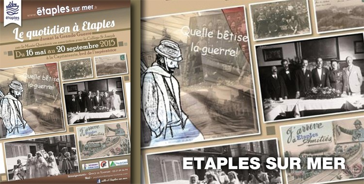Le Quotidien à Etaples durant la Grande Guerre