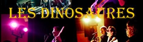 """Concert gratuit du groupe Pop rock """"Les Dinosaures"""""""