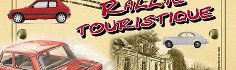 Rallye et exposition de voitures anciennes