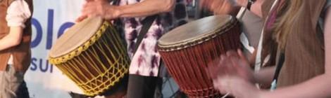 Rassemblement de percussions