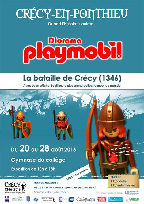 Crécy Playmobil