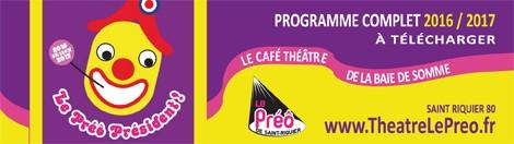 Café-Théâtre Le Préô / PROGRAMMATION