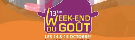 13ème WEEK-END DU GOUT