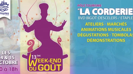 13ème WEEK-END DU GOUT