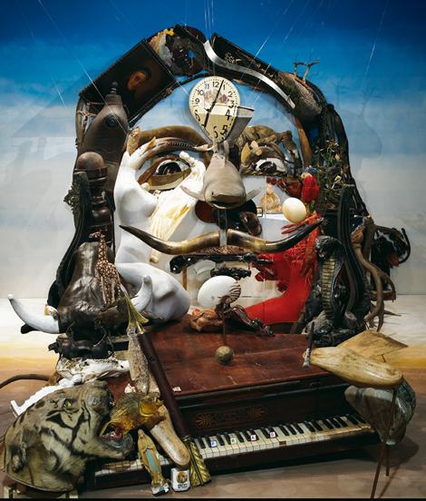 touquet bernard pras sculpture peinture Dali