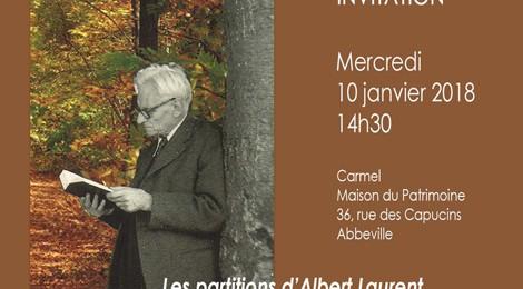 LES PARTITIONS D'ALBERT LAURENT