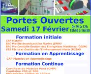 PORTES OUVERTES AU LYCÉE PROFESSIONNEL MARITIME DE BOULOGNE-SUR-MER / LE PORTEL