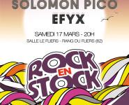 7ème TREMPLIN ROCK EN STOCK DES JEUNES TALENTS