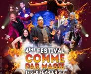FESTIVAL COMME PAR MAGIE - 4ème édition