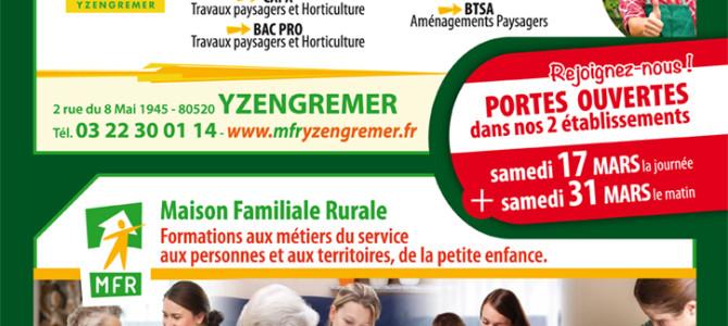 PORTES OUVERTES À LA MFR, ÉCOLE D'HORTICULTURE