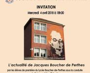 L'ACTUALITÉ DE JACQUES BOUCHER-DE-PERTHES