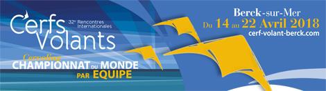 32èmes rencontres internationales de Cerfs Volants - Berck sur mer
