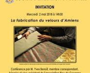 LA FABRICATION DU VELOURS D'AMIENS