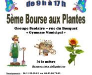 5ème BOURSE AUX PLANTES