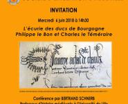 L'ÉCURIE DES DUCS DE BOURGOGNE PHILIPPE LE BON ET CHARLES LE TÉMÉRAIRE (1419-1477).