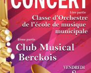 CONCERT DU CLUB MUSICAL BERCKOIS