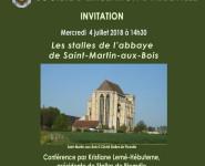 LES STALLES DE L'ABBAYE DE SAINT-MARTIN-AUX-BOIS