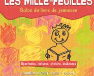 LES MILLE FEUILLES. Salon du livre jeunesse