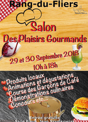SALON DES PLAISIRS GOURMANDS