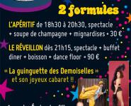 RÉVEILLON DE LA SAINT SYLVESTRE au Café-Théâtre Le Préô