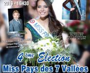 4ème ÉLECTION MISS PAYS DES 7 VALLÉES