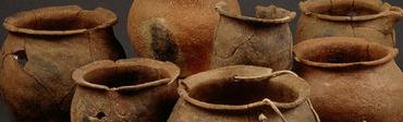 Atelier de poterie Mérovingienne