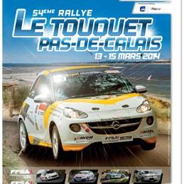 54ème Rallye Automobile - Le Touquet/Pas-de-Calais.