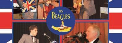 """Soirée club """"Les Beagles"""", hommage aux Beatles."""