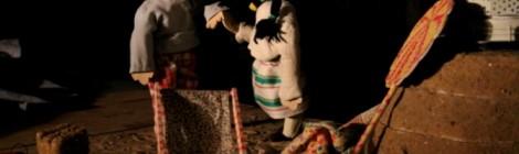 """Spectacle de marionnettes """"Au Fil de l'eau""""."""