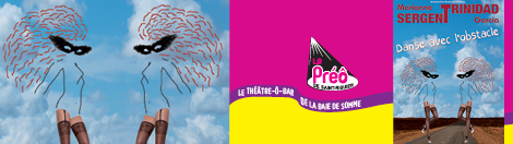"""Le Théâtre-Ô-bar de la baie de Somme présente... Comédie à deux """"Danse avec l'obstacle"""""""