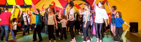 Loiso'cirk avec l'école de cirque abbevilloise Les Mains Goch'