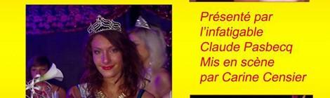 Election de Miss Cayeux avec Spectacle Music Hall Cabaret