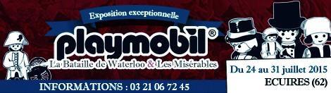 """Diorama """"La Bataille de Waterloo vue par les Playmobils"""""""