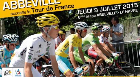 Abbeville accueille Le Tour de France