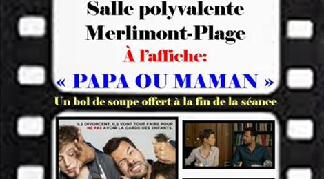 "Projection "" Papa ou Maman"""