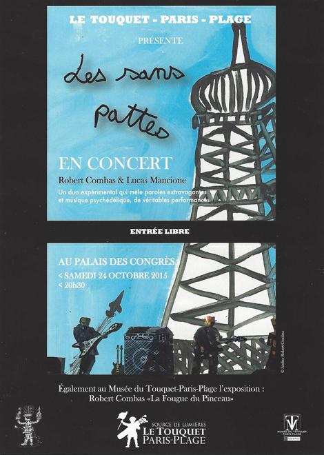 touquet Concert Combas