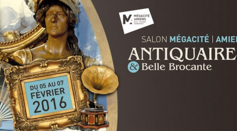 Le salon Antiquaires et Belle Brocante d'Amiens