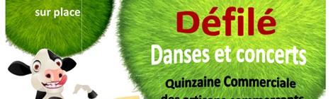 Concours agricole, brocante et défilé, danses et concerts