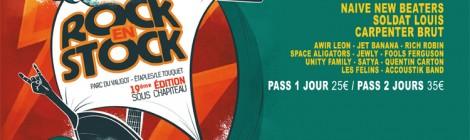 FESTIVAL ROCK EN STOCK, 19ème édition