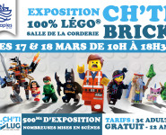 EXPOSITION EN LÉGOS CH'TI BRICK
