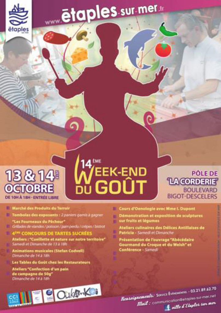 13 10 etaples week-end du gout