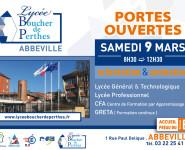 Portes Ouvertes au Lycée Boucher de Perthes