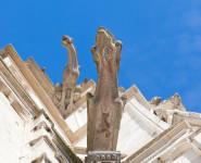 LES TOURS ET LE CLOCHER DE LA COLLÉGIALE SAINT-VULFRAN