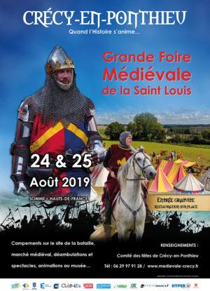 FOIRE MÉDIÉVALE DE LA SAINT LOUIS & BANQUET