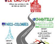 ARRIVÉE de la PARIS CHANTILLY LE CROTOY