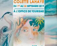 CARTE BLANCHE À COLETTE LAHAYE