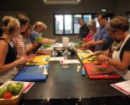 ATELIER CULINAIRE « koulibiac de cabillaud aux petits légumes »