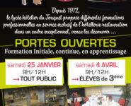 PORTES OUVERTES au Lycée Hôtelier