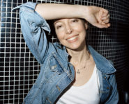 Jeanne Cherhal, photographiée à Paris le 14 mars 2019 par Mathieu Zazzo